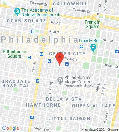 Map of Villari Firm Philadelphia